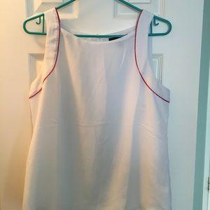 BR sleeveless blouse